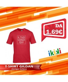 T-shirt Uomo GILDAN GL64000 Regular Fit