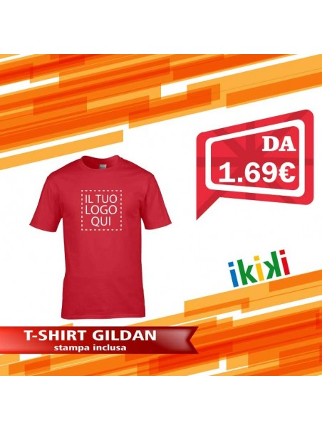 T-shirt Uomo GILDAN GL64000 Regular Fit