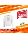 FELPA GILDAN HEAVY BLEND GIROCOLLO GL18000 VARI COLORI