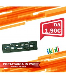 PORTATARGA POSTERIORE IN PVC 53.5X13.5X1.3 CM