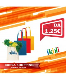BORSA SHOPPING IN COTONE 38X42