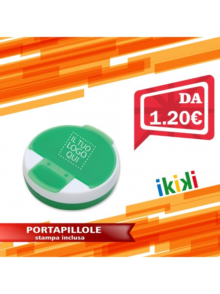 PORTAPILLOLE 4 POSTI DISPENCER