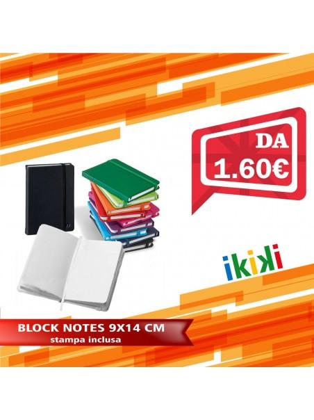 BLOCK NOTES 9X14 CM