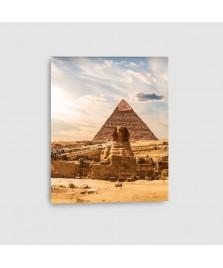 Quadro Egitto Piramidi Verticale