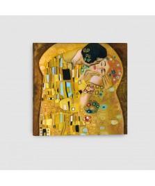 Bacio di Klimt - Quadro su Tela - Quadrato