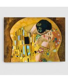 Bacio di Klimt - Quadro su Tela - Rettangolare