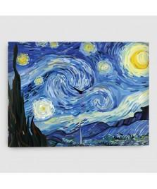 Notte Stellata - Quadro su Tela - Rettangolare