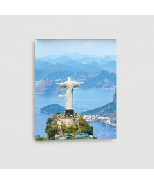 Cristo Redentore, Rio de Janeiro, Brasile - Quadro su Tela -