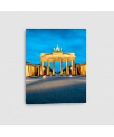 Berlino, Porta di Brandeburgo - Quadro su tela - Verticale