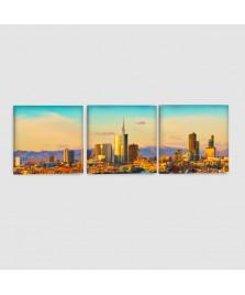 Milano - Quadro su tela - 3 pannelli