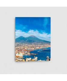 Napoli, Vesuvio - Quadro su tela - Verticale